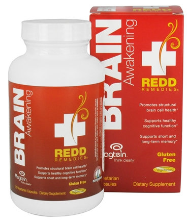 Redd Remedies, Brain Awakening, 120 caps