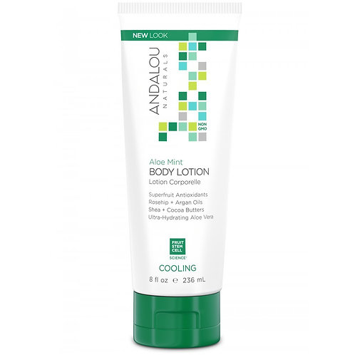 Andalou,body Lotion, Aloe Mint, 8oz