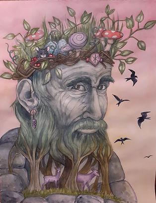 Kristen Birckholtz Forest Spirit One Wat