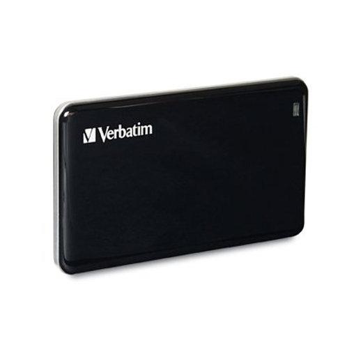 128GB Store 'n' Go Verbatim External SSD, USB 3.0 Black, TAA Compliant