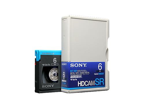 Evaluated Sony HDCAM SR 6
