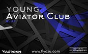 Young Aviator Club Card