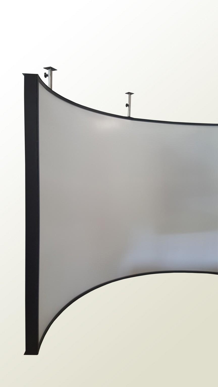IRISECO cylindrical screen