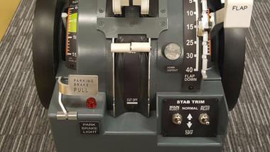 throttle non-motorized 737