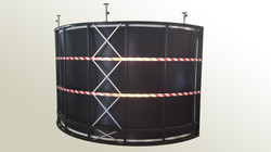 IRISECO cylindrical screen