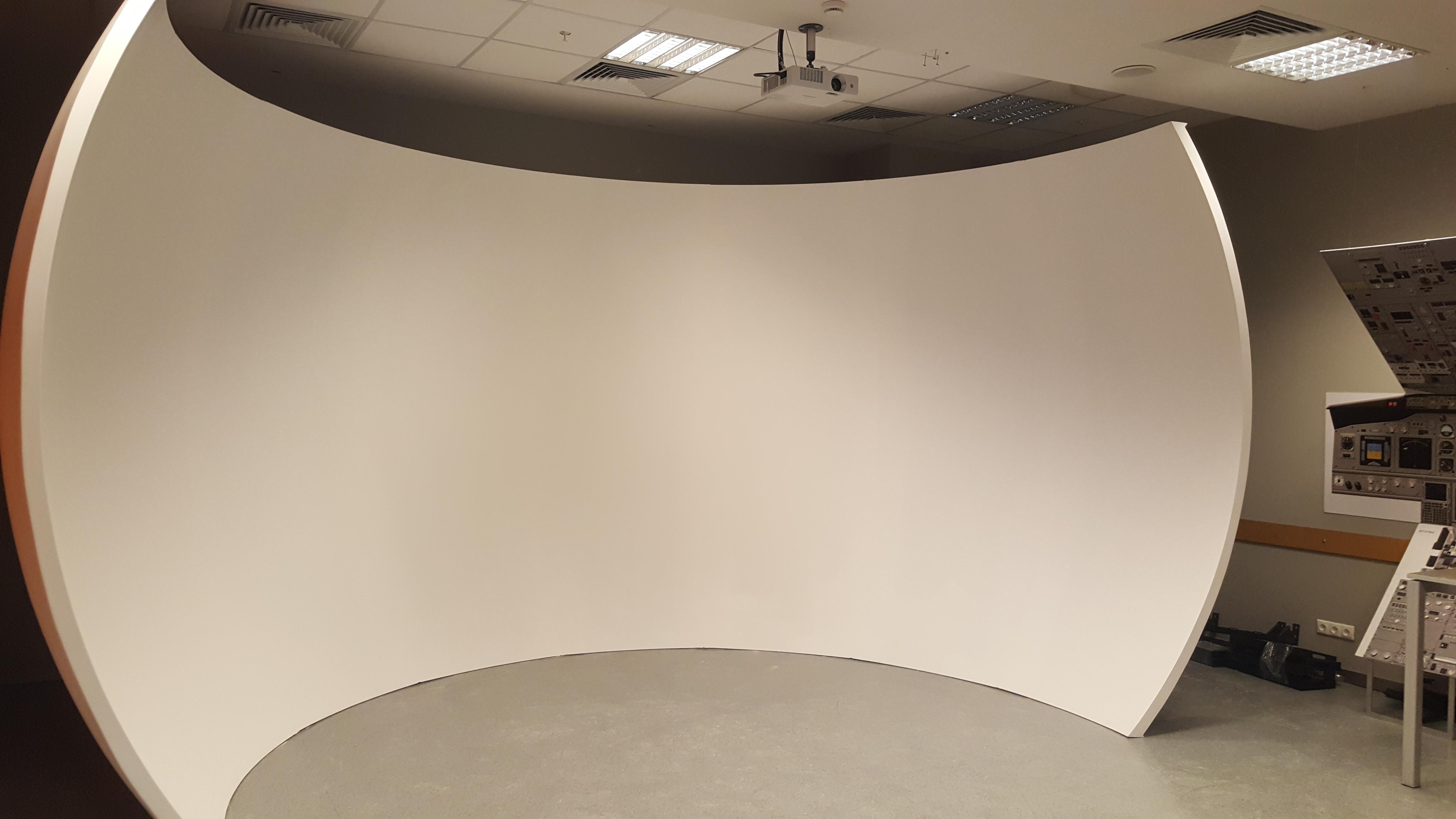 Kupols simülasyon görüntü sistemi