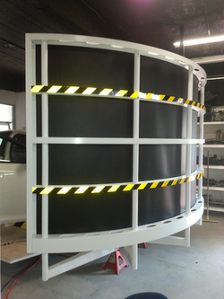 IRIS cylindrical screen system