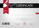 OZU flight simulator center certificate