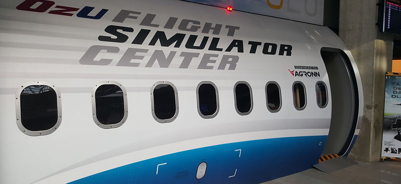 OZU flight simulator center Departures