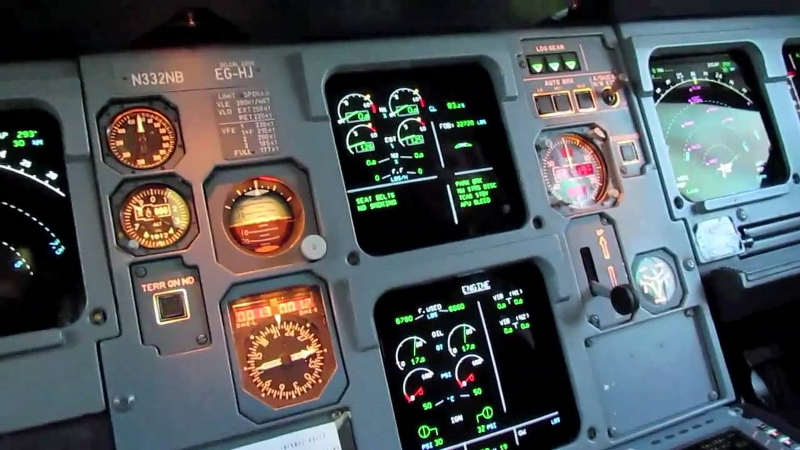 A320 sabit platform simülatör