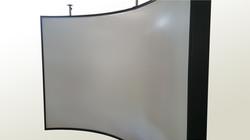 IRIS cylindrical screen system