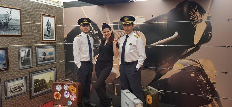 OZU flight simulator center Departures