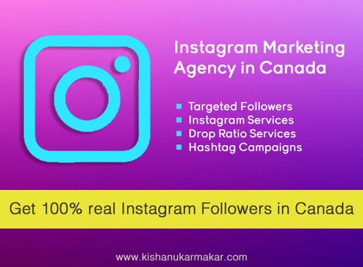 Buy Real Instagram Followers Canada | Best Instagram Marketing Agency in Canada