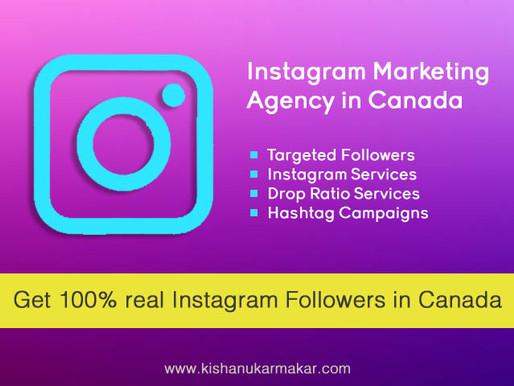 Buy Real Instagram Followers Canada   Best Instagram Marketing Agency in Canada