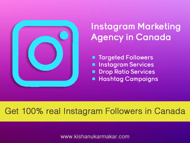 Buy Instagram Followers Canada | Buy High Quality Instagram Followers Canada through Paypal