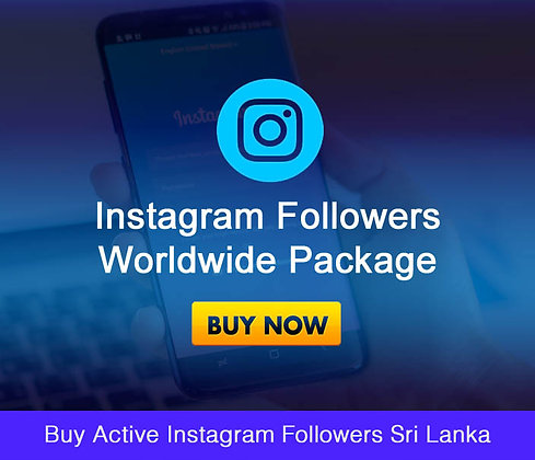 Buy Active Instagram Followers Sri Lanka