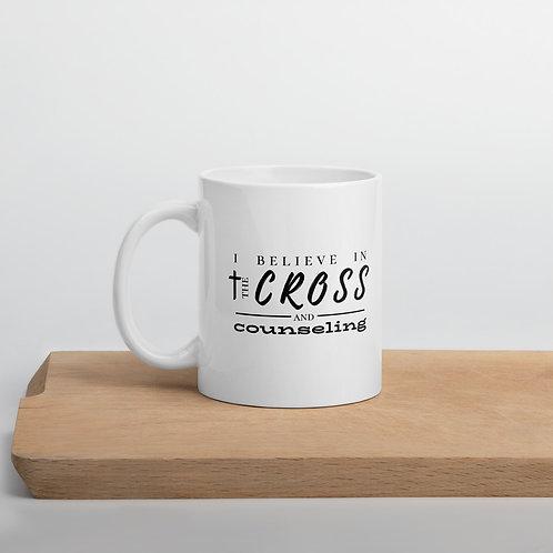 Cross + counseling mug