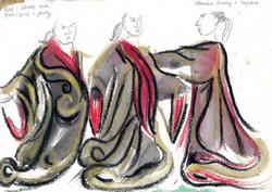 The conspirators costume group