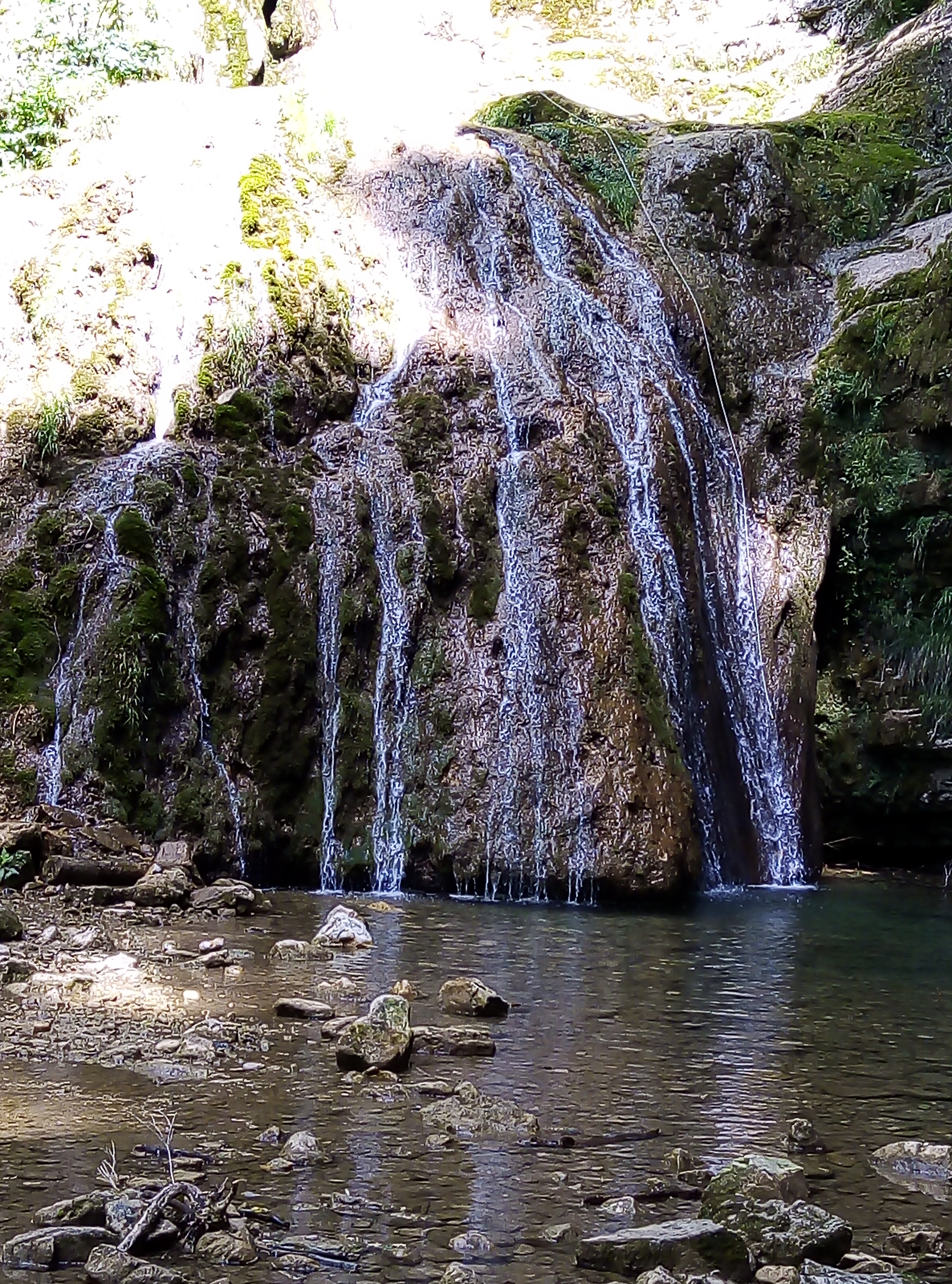 Cascade de la Fouge