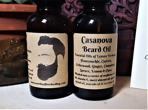 Casanova Beard Oil