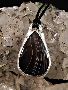Black Banded Agate ~ Stability & Strength