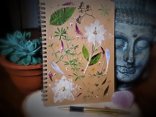 Pressed Flowers Journal the 1st