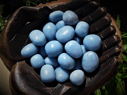 Angelite - Angelic Communication, Gentle Expression, Serenity, Awareness