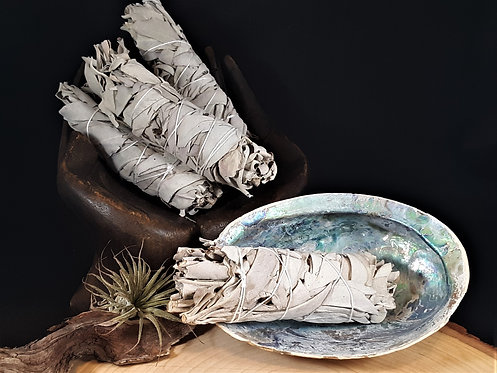 White Sage Smudge Stick - Cleansing, Healing, Ceremony, Space Clearing