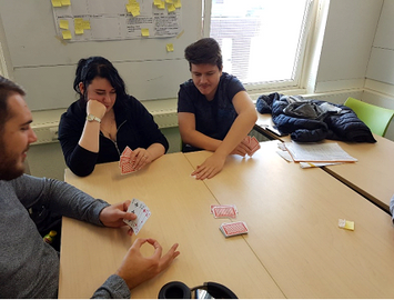 Card game playtesting 1
