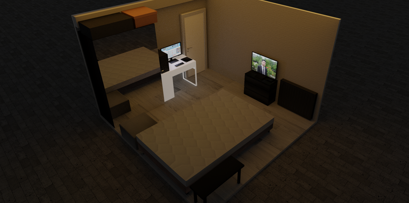 My room in 3D