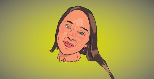 Cartoon portrait of comissioner 2