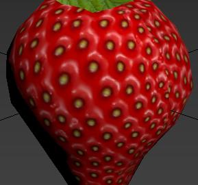 Textured Strawberry