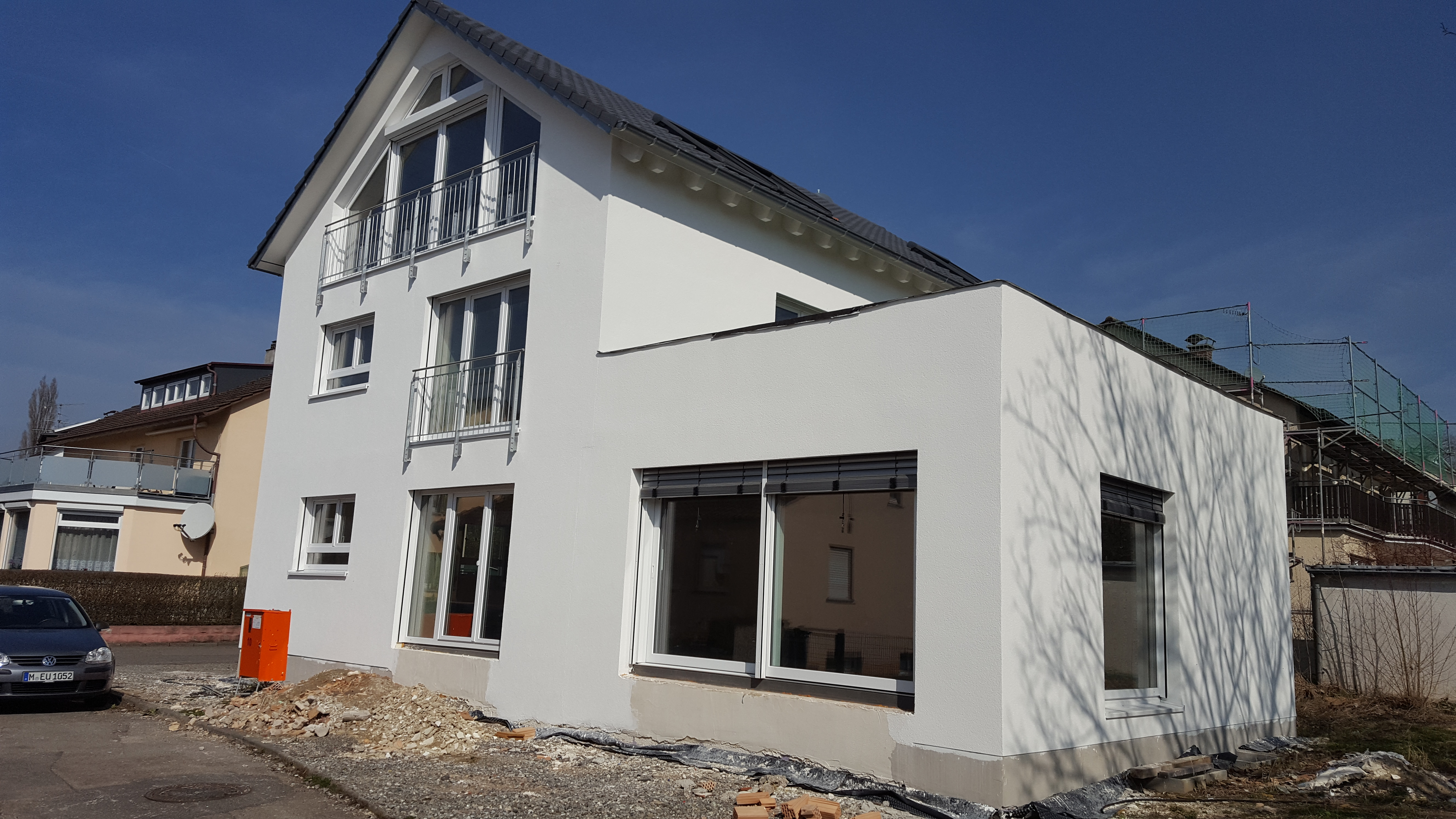 Um- mit Anbau Wohnhaus