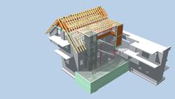 Anbau UG, Treppenhaus und Aufzug an ein Hotel │ Hagnau