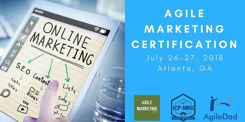 Agile Marketing Certification - Atlanta, GA