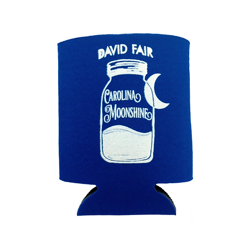 Blue Carolina Moonshine Koozie
