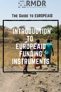 Introduction to EuropeAid funding instruments