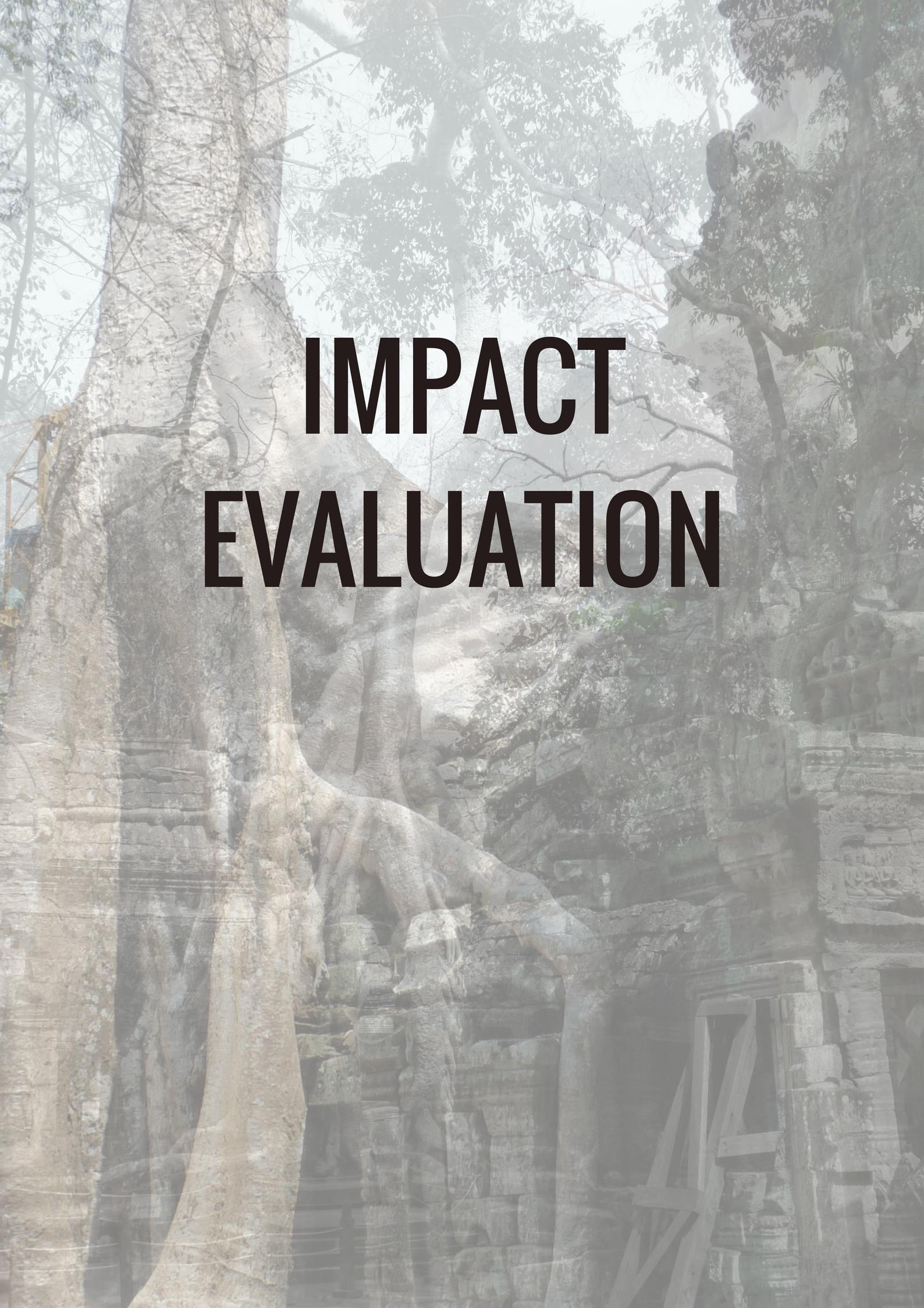 impact evaluation