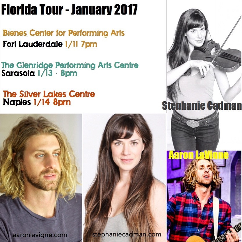 Florida Tour 2017 with Stephanie Cadman