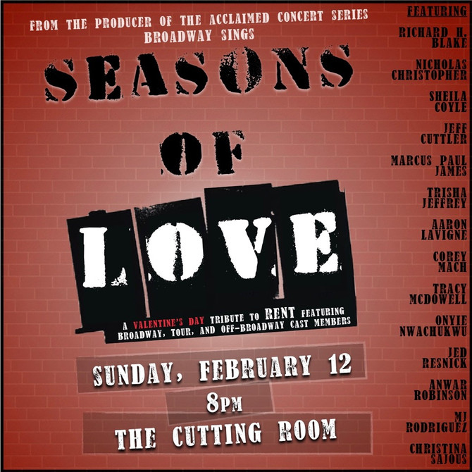 Seasons Of Love - A RENT Tribute 2/9