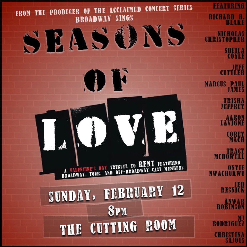 Seasons Of Love - The Cutting Room NYC