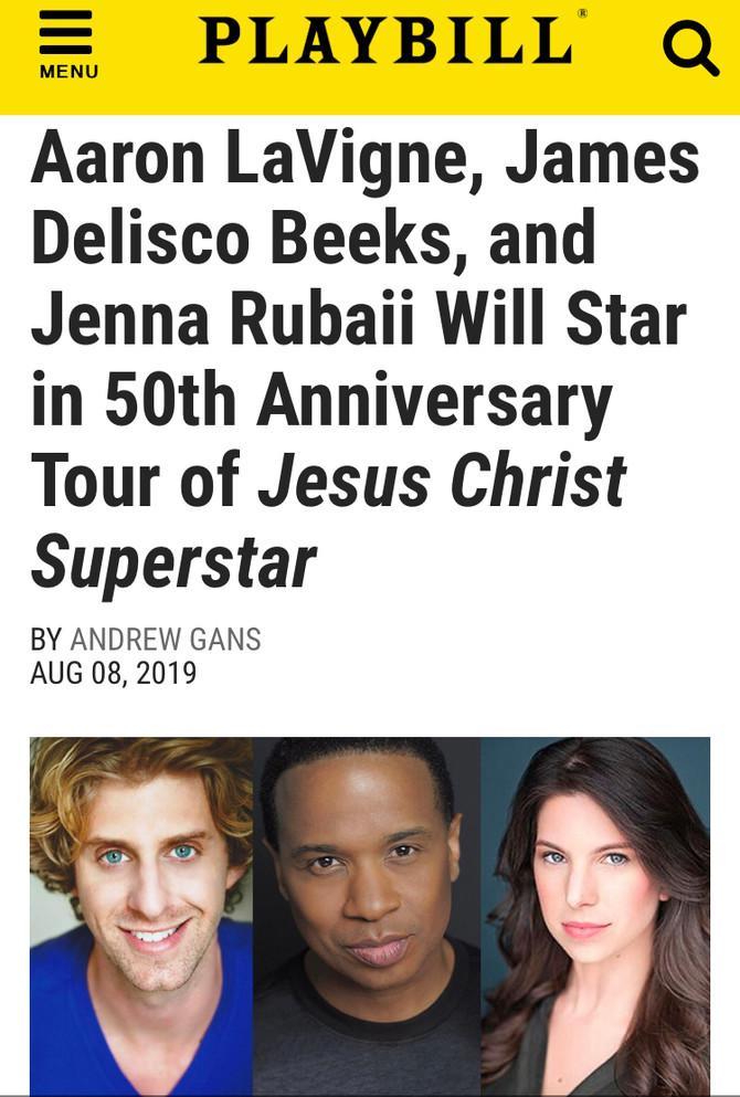 Jesus Christ Superstar - 50th Anniversary Tour - click below for tickets.