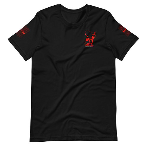 Musicality Unisex T-Shirt | Black and Red