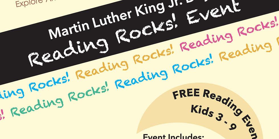 Brown Kids Read - Reading Rocks!