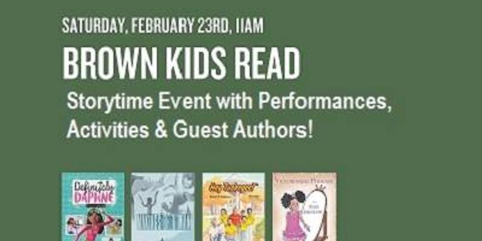 Brown Kids Read Barnes & Nobles Event
