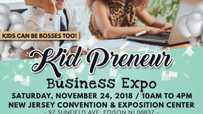 KiDz HuB Junior Broadcasters Cover The Kid Preneur Business Expo 2018