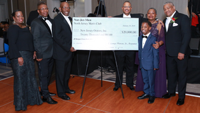 Nor-Jer-Men, a Historic Black Foundation, Makes a Charitable Donation to the New Jersey Orators.