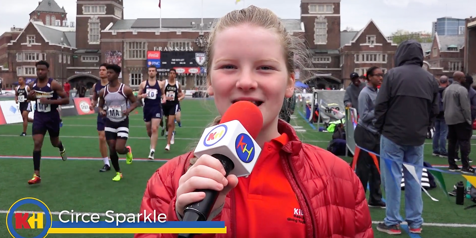 NY Tristate Broadcast Tour & Penn Relays Broadcast
