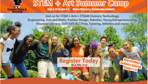 BECAUSE GOD CHOSE ME!          5-Week STEAM Summer Camp