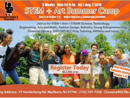 BECAUSE GOD CHOSE ME!          5-Week STEAM Summer Camp